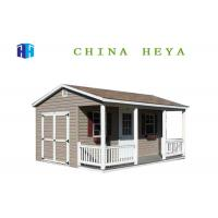 Buy cheap 112 Sqm Modern Prefabricated Houses Custom Manufactured Homes With Bathroom from wholesalers