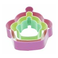 China 3 Cupcake Shaped Cookie Cutters on sale