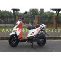 China Drum Brake Air Cooled Motorcycles Scooters 150CC , Gas Motor Scooters For Adults on sale