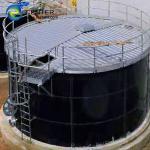 Buy cheap Expandable Porcelain Enameled Steel Industrial Water Tanks AWWA D103-09 OSHA ISO/EN 28765 from wholesalers