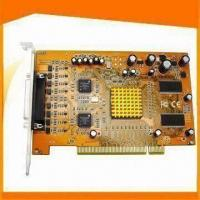 Buy cheap 8CH H.264 Compression Basic Edition Hybrid DVR Card with PTZ Control from wholesalers