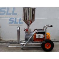Buy cheap Brushless Room Painting Mortar Spraying Machine 3000w Diaphragm Pump Wall Putty product