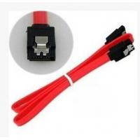 SATA 30 AWG Thin 0.5m/1m  flat SATA 3Gbps Data 7-Pin Cable with Latch Manufactures