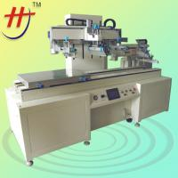 Buy cheap Large Format Full Automatic Multi-Color Screen Printing Machinery for Flatbed Plastic Board with Vaccum System 500*700cm from wholesalers