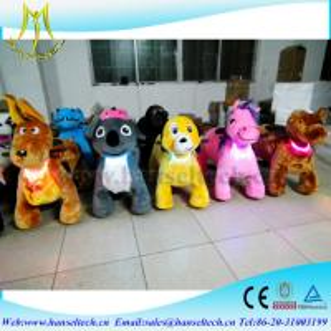 Hansel kids indoor play equipment indoor amusement center happy rides on animal Manufactures