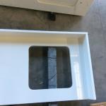 Buy cheap White Engineered Stone Countertop Manmade Quartz Stone Countertop Vanity Top from wholesalers