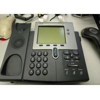 Buy cheap 2 Lines Used Cisco IP Phones 7941G Higher Resolution Pixel - Based LCD Durable product