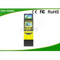 Buy cheap Railway Station Bill Payment Dual Screen Kiosk All In One Easy Operation from wholesalers