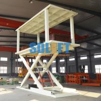 Buy cheap 2T 3m Hydraulic Scissor Type 2 Car Parking Lift form Basement to Ground Level from wholesalers