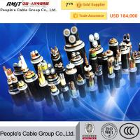 Buy cheap 11kv copper/ aluminum conductor XlPE/PVC/PE insulated power cable from wholesalers