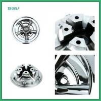 Buy cheap 10 Spoke Ss Golf Cart Hub Caps Go Kart Wheel Covers 235×77.5 Mm CE Certification from wholesalers