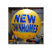 Wholesale Big Helium Sphere Printed Helium Balloons For Exhibition 6 - 8 Grade Wind Resistance from china suppliers