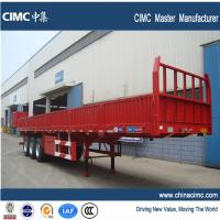 China 40ft tri-axle side wall cargo semitrailer with a load capacity 50 ton on sale