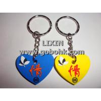 Buy cheap LX-P800 PVC keychain label manufacturing from wholesalers