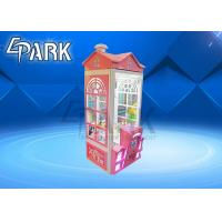 Buy cheap Pink Villa House Big Claw Crane Game Machine With 1 Year Warranty from wholesalers