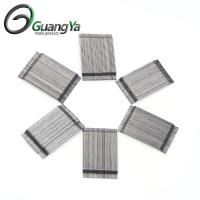 Buy cheap High Quality Glued hooked end steel fiber for concrete reinforcement from wholesalers