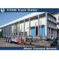 Buy cheap Tri Axle Logging Trailer from wholesalers