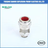 Buy cheap BDM-1 brass nickel planted,stainless steel 304 316L explosion-proof/industrial cable clamping sealed cable gland IP68 from wholesalers