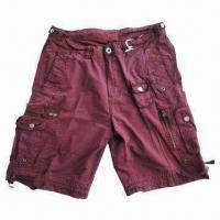Buy cheap Stocklot for Men's Washing Cargo Shorts, 3,000 Pieces MOQ from wholesalers