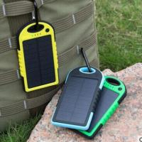 Wholesale Drop Resistant Waterproof Solar Powered Phone Charger For IPads / Android Phones from china suppliers