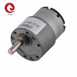 Buy cheap JQM-37RS520 37mm Reducer Gear Motor 6V 12V 24V For Industrial Robot Arm from wholesalers