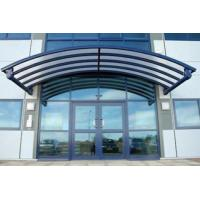 Buy cheap Rain Shed Platform Stainless Steel Canopy , Glass Canopies For Commercial Buildings from wholesalers