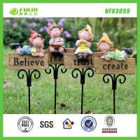 Buy cheap Gnome Resin Garden Stake from wholesalers