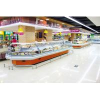 China Energy Efficient Countertop Refrigerated Display Case Merchandizer For Sausage And Dairy on sale