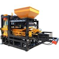 China New type factory QT4-18 full auto hydraulic cabro block machine,habiterra block machine easy operation on sale