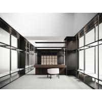 Buy cheap Cloth designer work rooms by work station tables and display racks in Wardrobe closet used stainless steel factory work from wholesalers