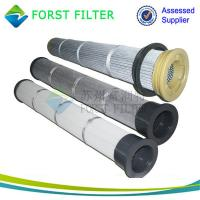 Buy cheap FORST Industrial Antistatic Filter Material Pleated PTFE Filter Bag from wholesalers