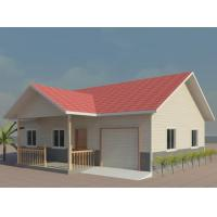 Buy cheap Portable Steel Frame Structure 4 / 3 Bedroom Modular Homes , Mobile Light Steel Villa from wholesalers