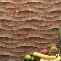 Wholesale Rosso Verona 3D Natural Stone Art For Interior Walls from china suppliers