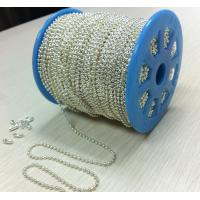 Buy cheap silver ball chain for necklace chain from wholesalers