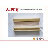 Buy cheap Copper guide shoe Elevator Spare Parts ,  LG and Hitachi Elevator Accessories Yellow from wholesalers