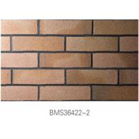 Buy cheap Low Water Absorption Exterior Thin Brick Durable For Real Estate from wholesalers