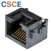 Buy cheap Ethernet SMT RJ45 Connector 10 / 100 Mbps Current Rating 1.5A For Network Cables from wholesalers