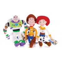 Toy Story 3 Buzz Lightyear / Sheriff Woody / Jessie / Disney Plush Toys For Promotion Manufactures