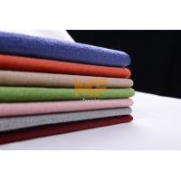 Buy cheap Textured Modern 100 Polyester Fabric , Burnout Velvet Print Fabric For Upholstery from wholesalers
