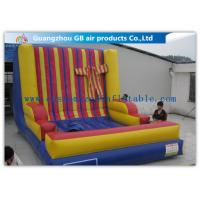 Popular PVC Inflatable Velcro Wall Adults Sport Blow Up Sticky Wall Manufactures