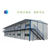 Buy cheap Two Storey Pre Assembled Homes , Modern Contemporary Prefab Homes Earthquake Proof from wholesalers