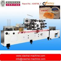 Buy cheap Automatic Offset Printing Machine for Plastic lid / Cover / Tray / Plate from wholesalers