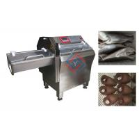 Buy cheap Automatic Fish Processing Equipment , Frozen Fish Slicing Machine High Efficiency from wholesalers