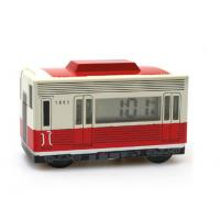 Buy cheap New creative gift product moving bus alarm clock from wholesalers