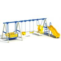 Buy cheap professional Chinese manufacturer outdoor play swing kids plastic slide from wholesalers
