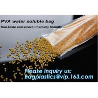 Buy cheap 100% China Manufacture Eco-friendly Pva Water Soluble Liquid Detergent, Dissolvable laundry bag eco-friendly water solub from wholesalers