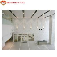 Buy cheap White Marble Stone Tiles Slabs For High End Hotel Villa Projects from wholesalers