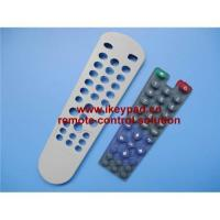 Buy cheap Remote control conductive silicone rubber keypad from wholesalers