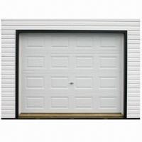 Buy cheap Automatic Overhead Sectional Garage Door, Remote Controlled, Electric, Built-in Manual  from wholesalers