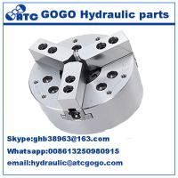 Buy cheap 3 Jaw closed center Hydraulic control parts power lathe chuck for CNC Lathe Machine from wholesalers